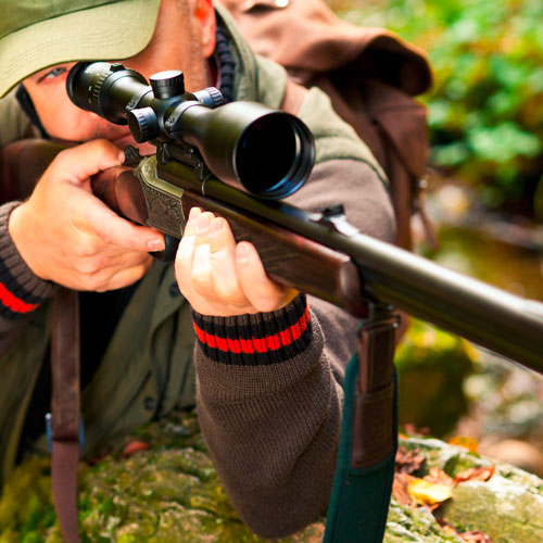 Optik bei Waffen Hofer im Mühlviertel